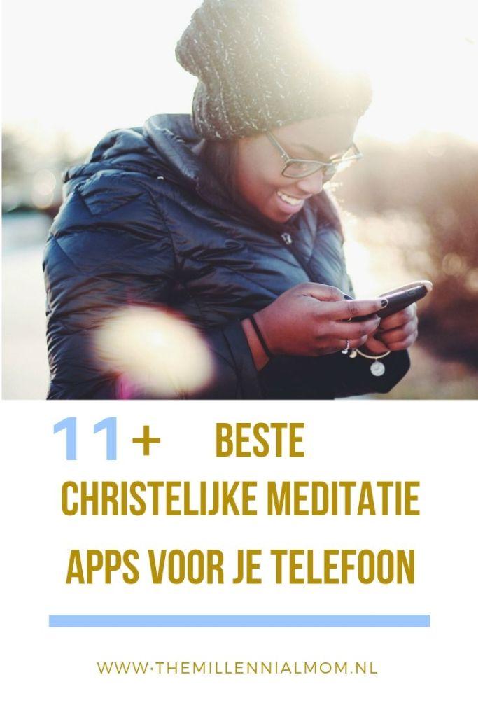 christelijke mindfulness en meditatie apps smartphone