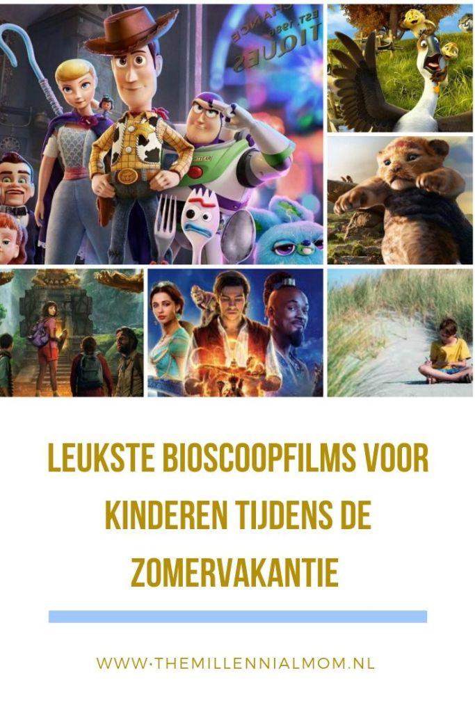 leukste bioscoopfilms voor kinderen zomervakantie