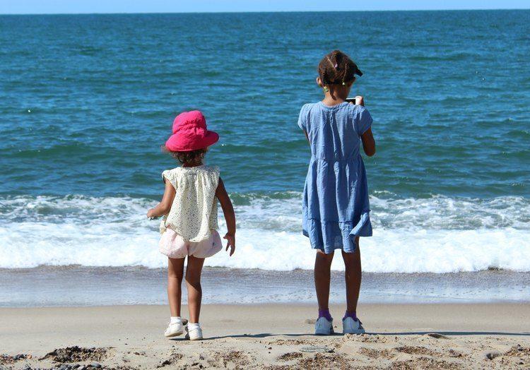 stranden in Denemarken