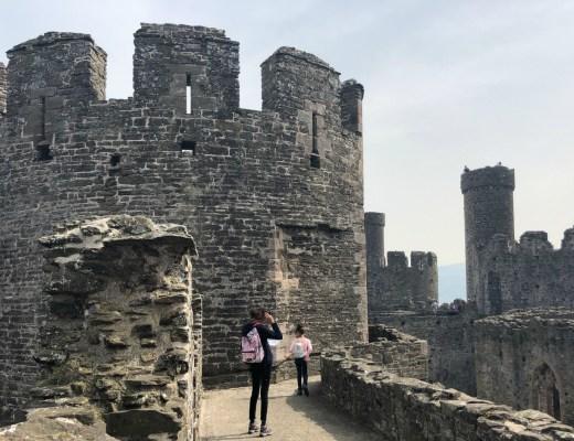 ervaringen Conwy Castle met kinderen