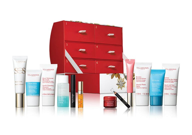 clarins- make up kalender-the millennial mom