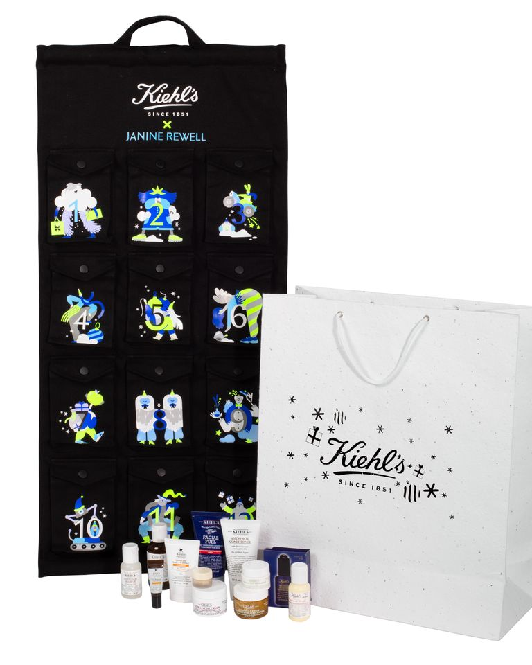 kiehls- make up kalender-the millennial mom
