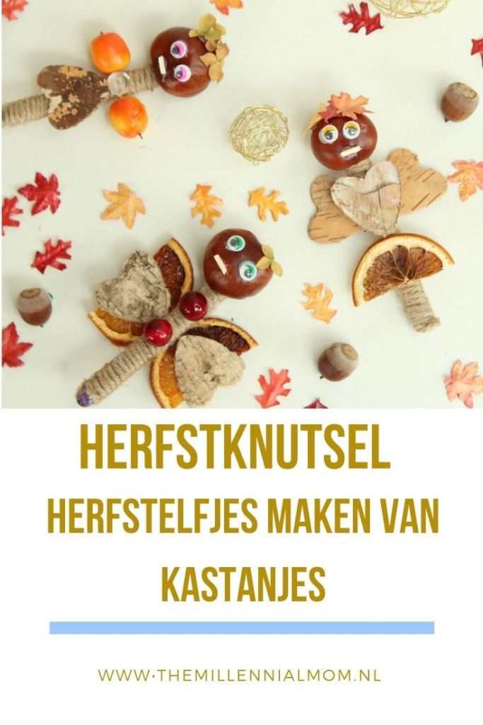 knutselen met kastanjes_The millennial mom