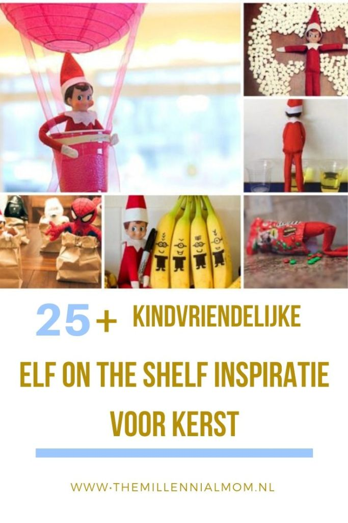 Elf on the shelf inspiratie voor kinderen