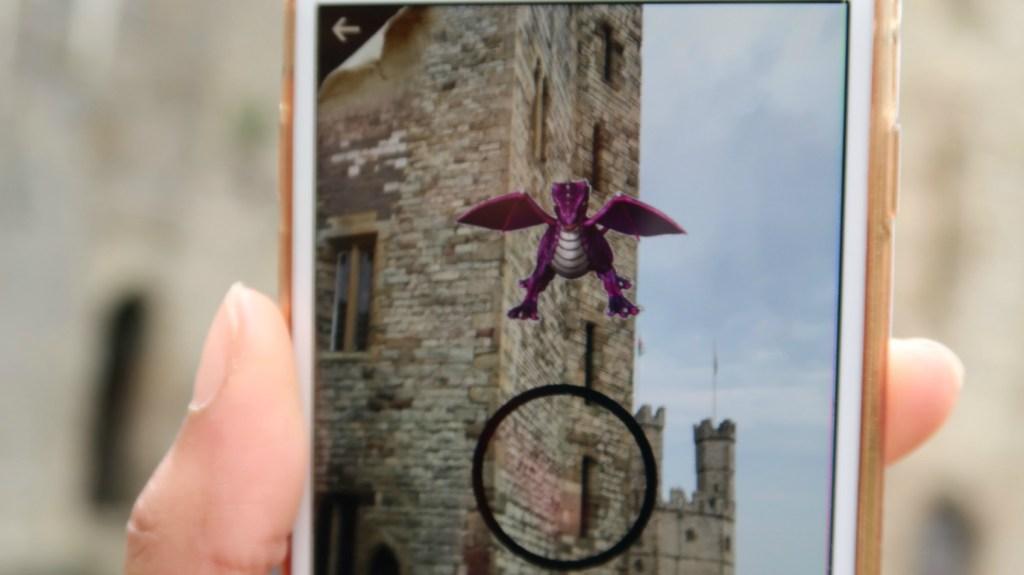 Met kinderen draken vangen op Kasteel Caernarfon