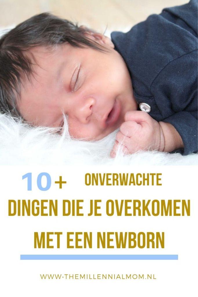 10 onverwachte dingen die je overkomen met een newborn