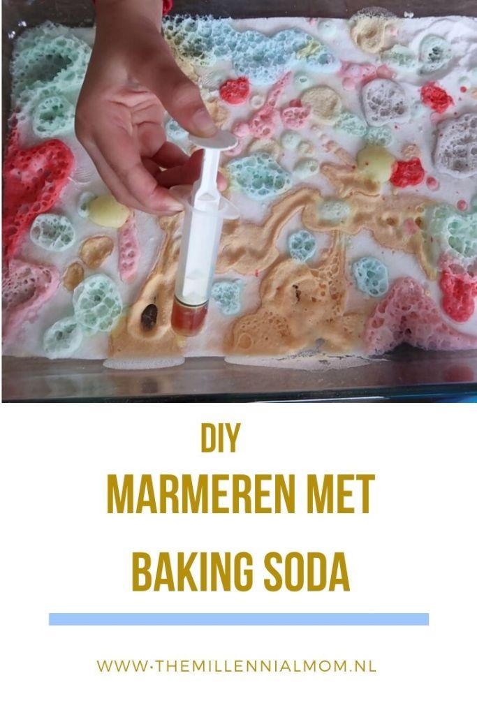 DIY met baking soda