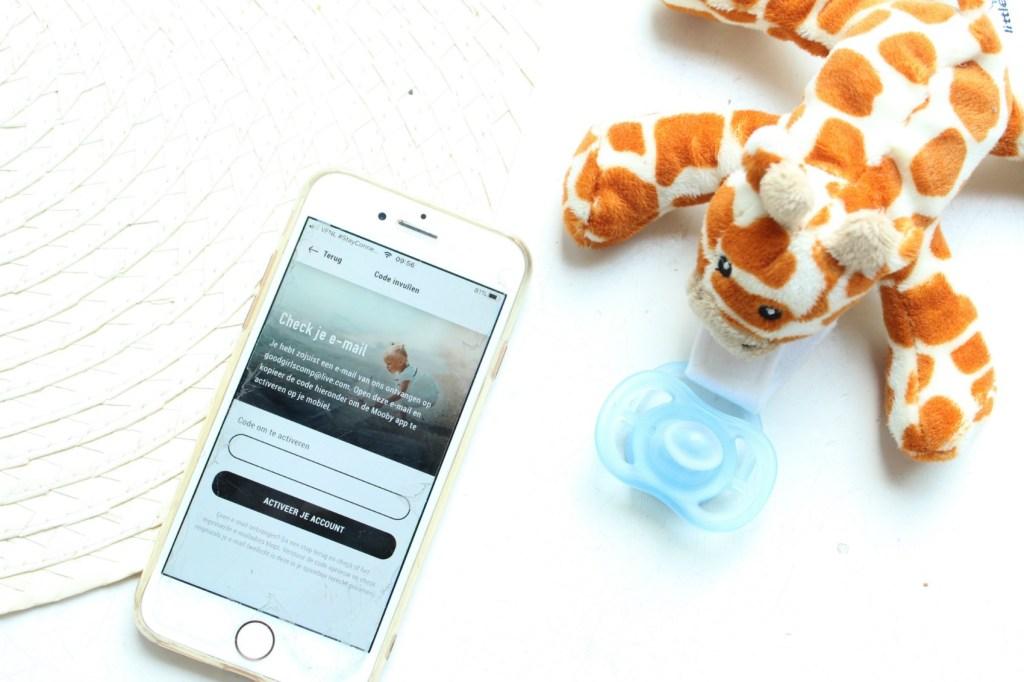 Mooby-app de digitale schatkist voor al je herinneringen