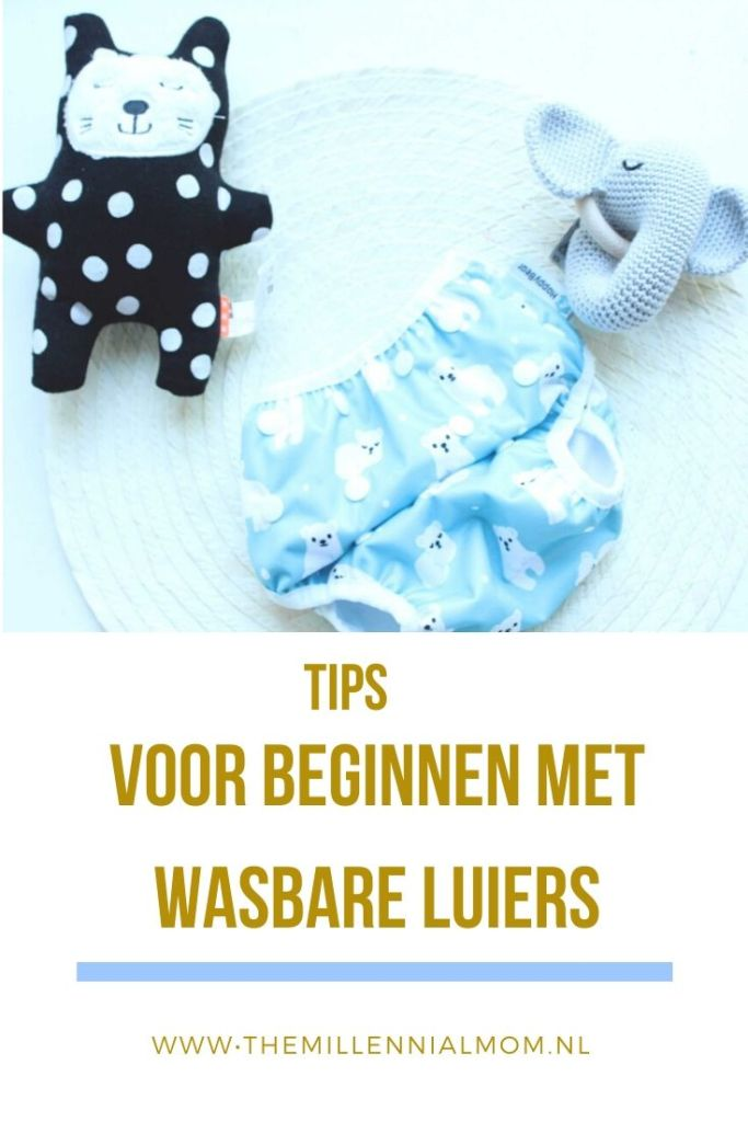 tips voor beginnen wasbare luiers