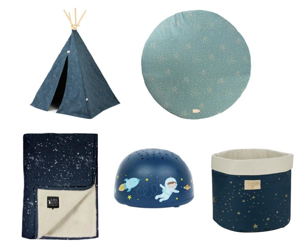 accessoires voor kinderkamer sterren