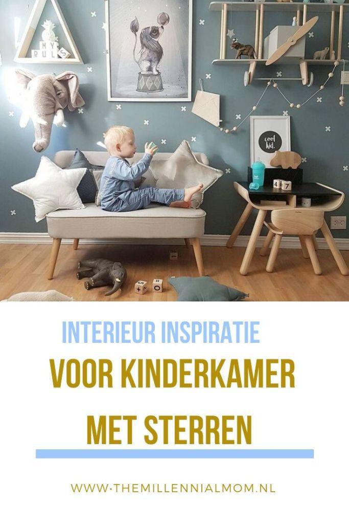interieur inspiratie voor kinderkamer met sterren