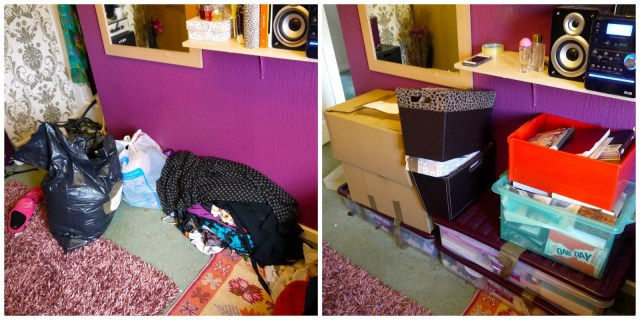Leaving my childhood bedroom behind // Moving out of my childhood home