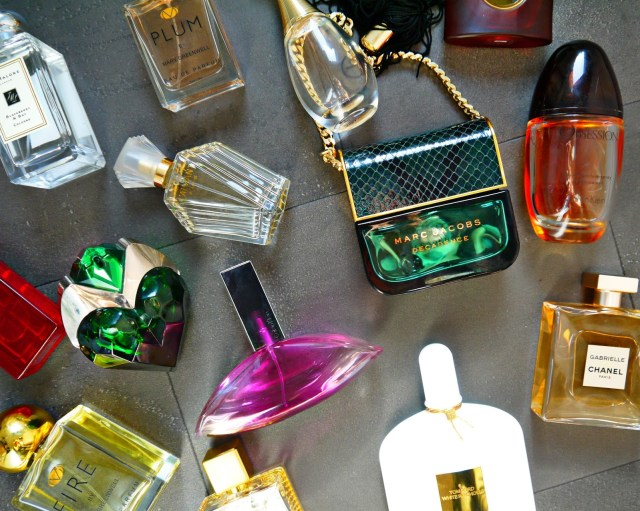 My perfume collection 2019