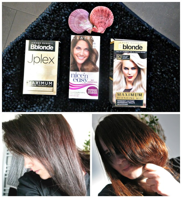 How to get copper auburn hair + How to erase purple/burgundy/red tones