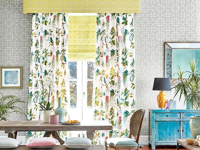 curtain ideas to lift your living room