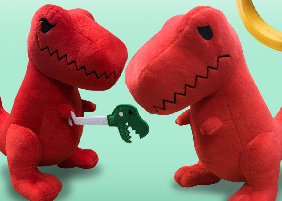 Sad T Rex Plush