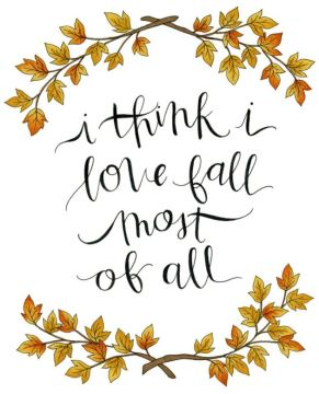 Good Fall Instagram Quotes