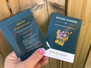 BeesMatter Buzzing Gardens seed kits