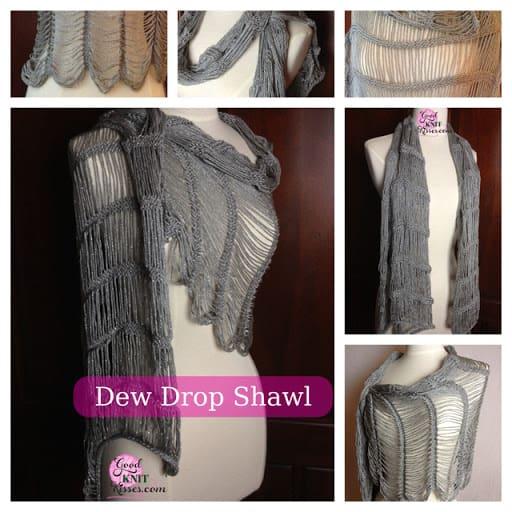 Dew Drop Shawl