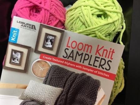 Loom Knit Samplers Book Giveaway Goodknit Kisses