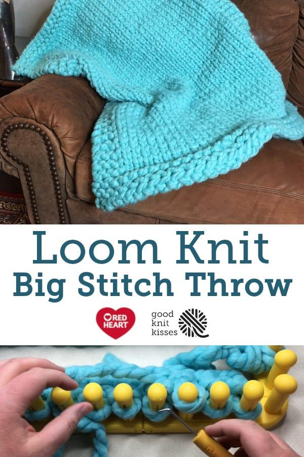 Big Stitch Throw Pin Image