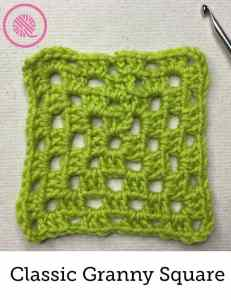 How to Crochet Granny Squares Classic Granny Image