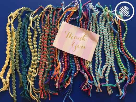 Friendship Bracelets Thank You