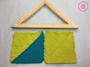 How To Weave on a Triangle Loom