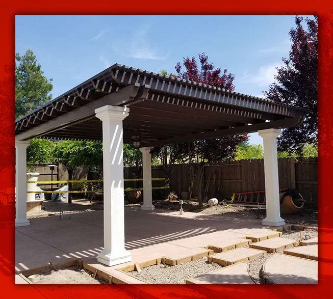 sacramento patio awning services in