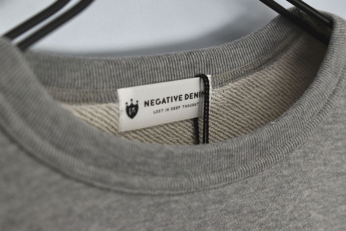 NEGATIVE DENIM/ Sweat shirt