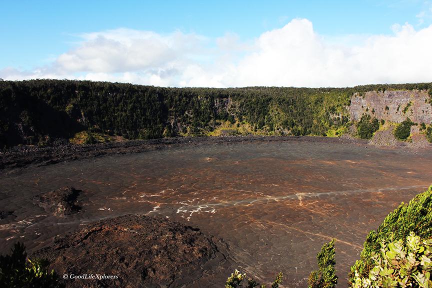 Hawaii Volcano Crater