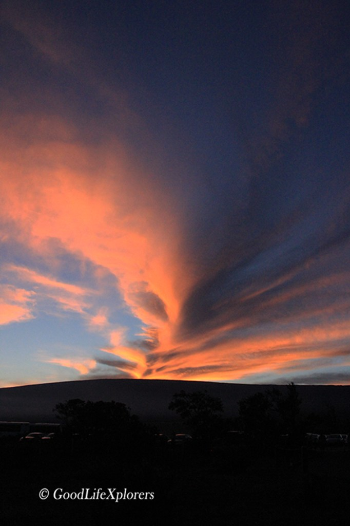 Hawaii Volcano Sunset