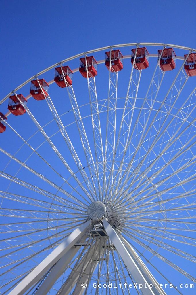 Ferry Wheel Chicago Navy Pier