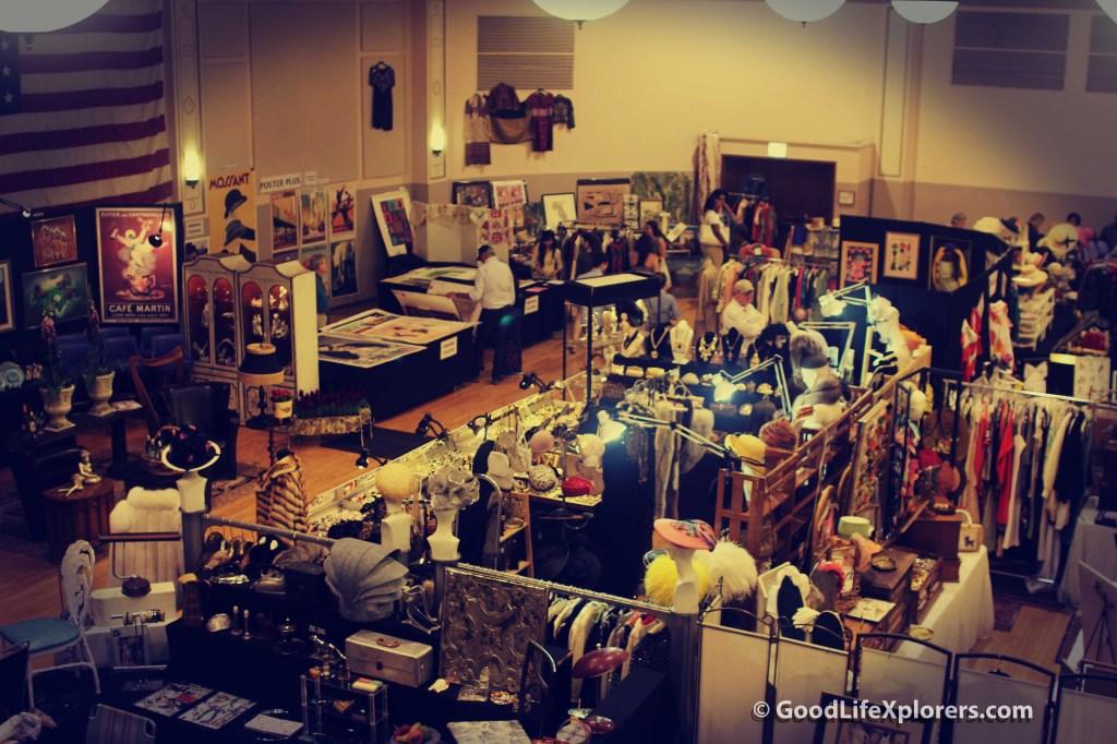 Randolph Street Vintage Market Chicago Indoors