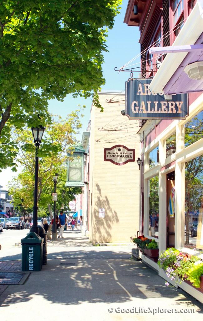 Bar Harbor Maine Shopping