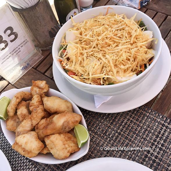 Lunch at Chapeu de Sol