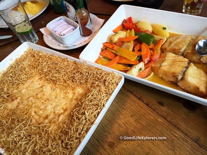 International Shrimp and Grilled Fish at Coco Bambu