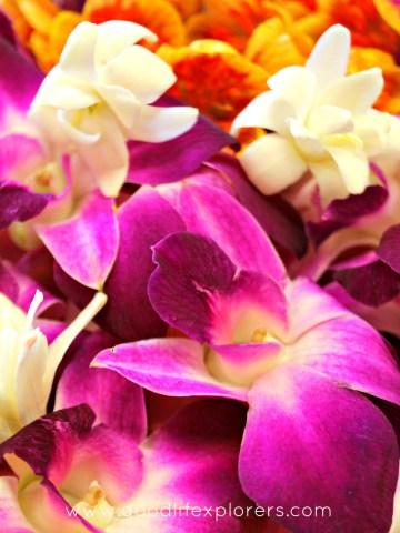 Lei Making Waikiki Oahu Honolulu Hawaii craft flower culture Aunty Bella Alexandria Byous