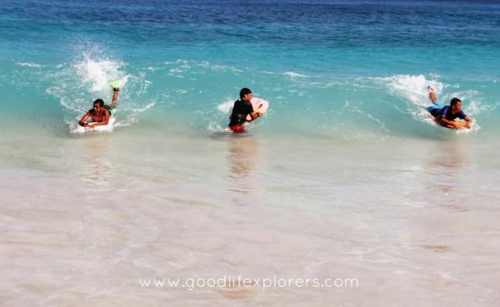 best beaches for BodyBoarding in Oahu - Makapu'u Beach
