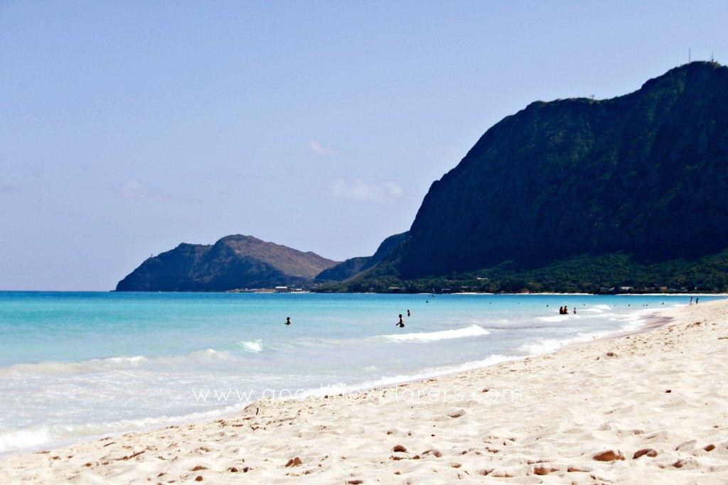 best beaches for BodyBoarding in Oahu - Waimanalo Beach