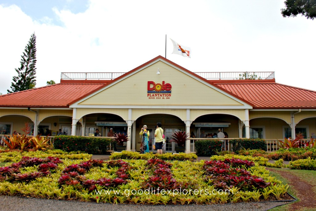 Dole Plantation on Oahu Hawaii