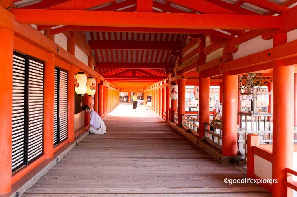 Itsukushima Shinto Shrine Miyajima Japan