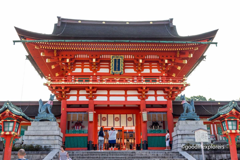 Fushimi- Inari temple near Kyoto Japan