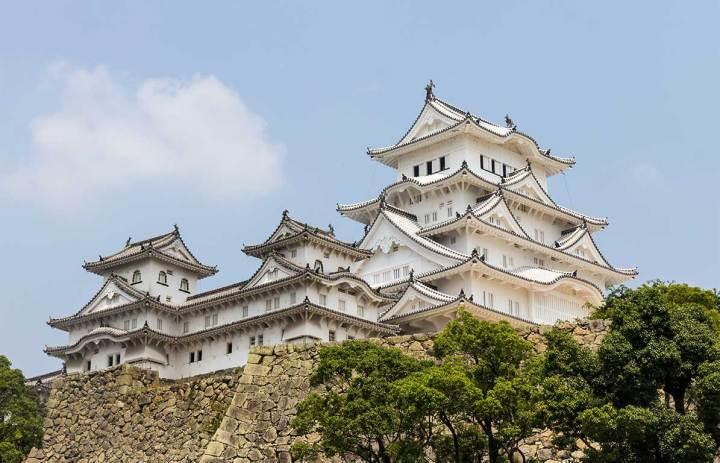 Himeji Castle Near Kyoto Japan