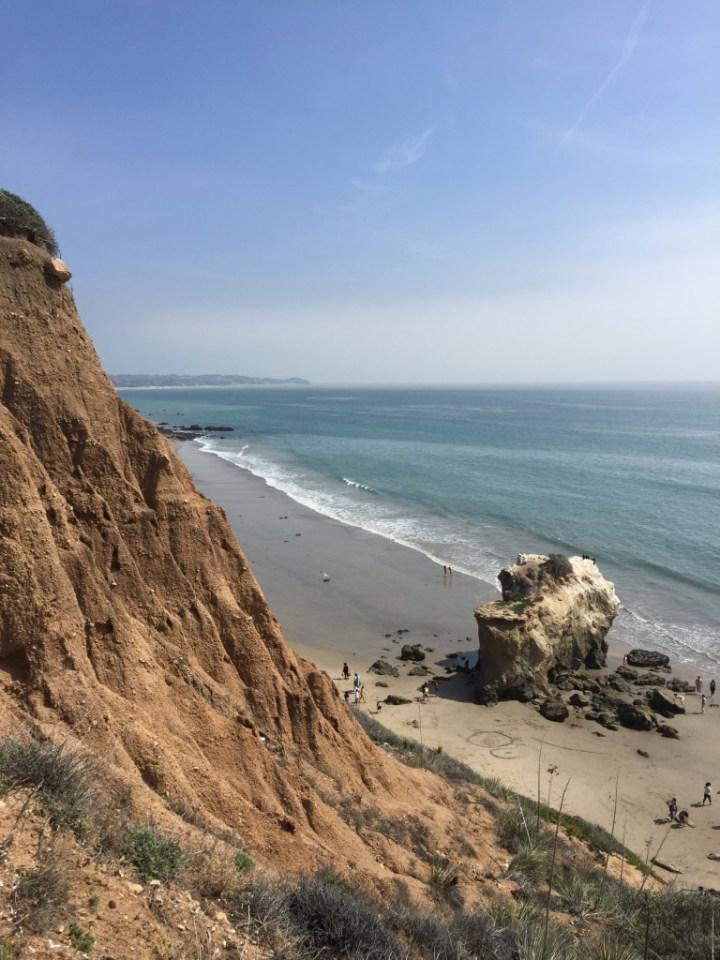 El matador beach in Malibu