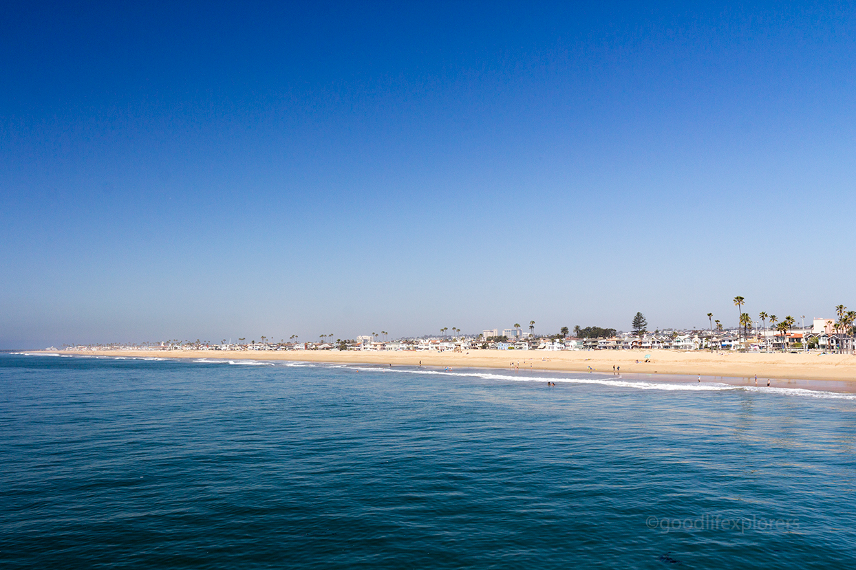 The Best Beaches in Southern California - Newport Beach from pier