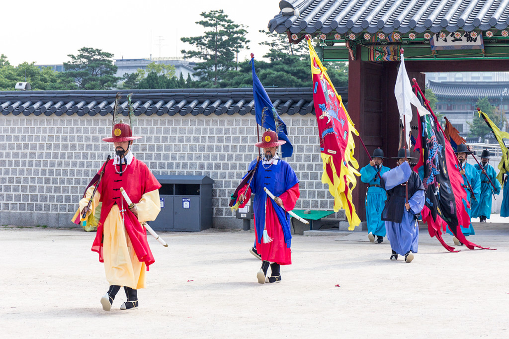 Gyeongbokgung Palace changing of the guards