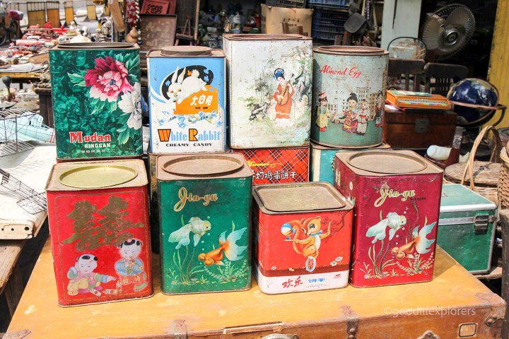 antiques tins for sale in China