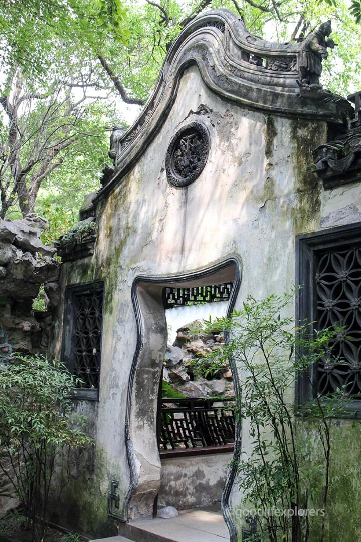 Yu Garden architecture
