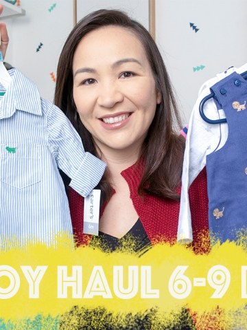 baby, haul, baby haul, shopping, baby shopping haul, 6 months, 9 months, children's fashion, fashion, clothing, carter's, H&M, aden and anais, janie and jack, gap, baby haul 6-9 months